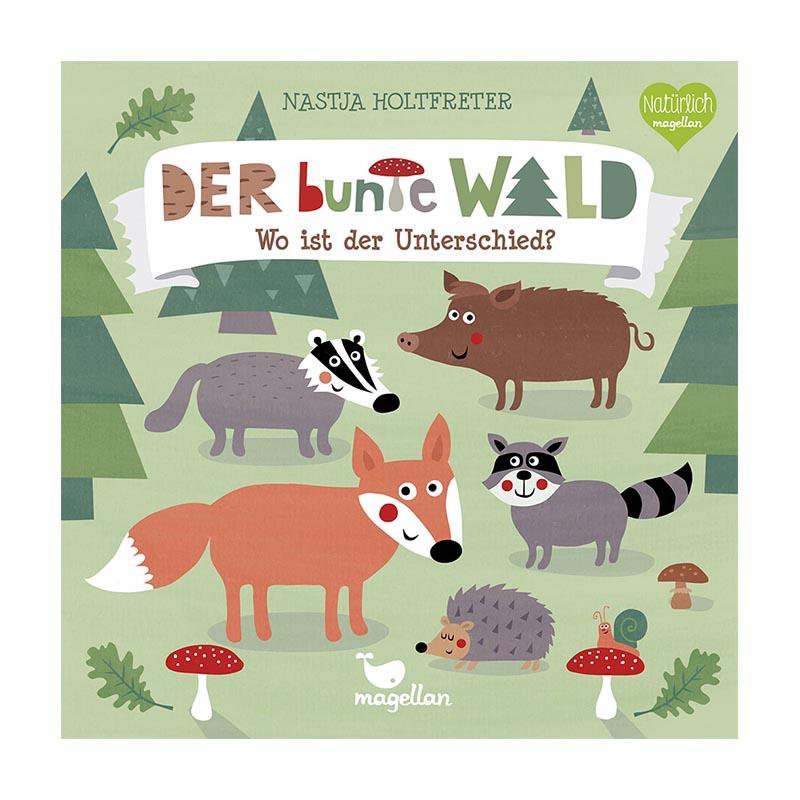 Pappbilderbuch bunte Wald