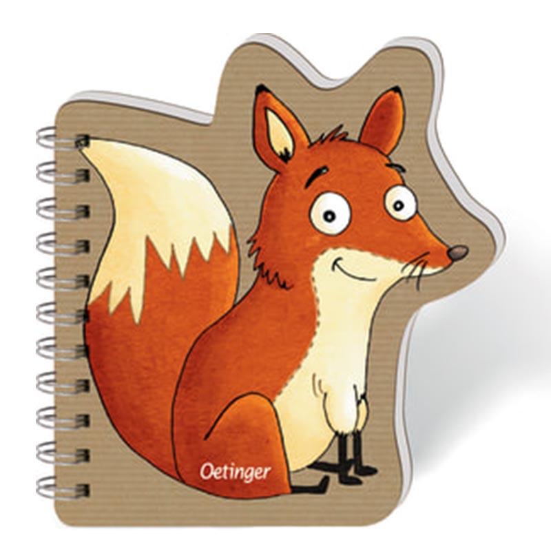 Notizblock Fuchs